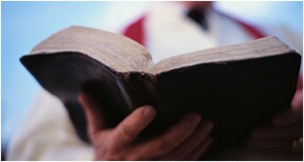 holding_bible